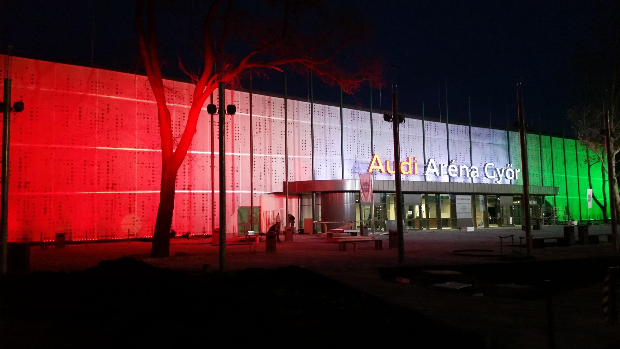 Győr, Audi Aréna