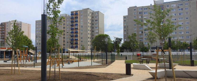Innovatív köz- és parkvilágítás Győrben