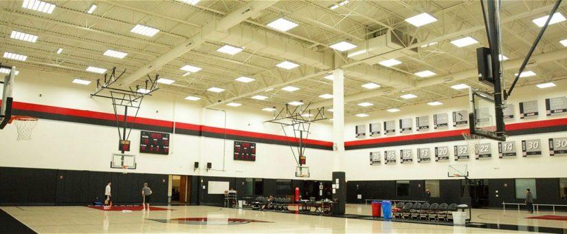 Ideális megoldás sportcsarnokok világítására